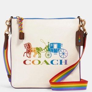 Coach pride crossbody